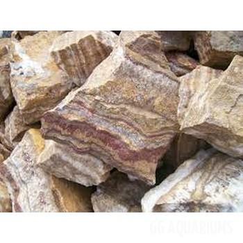 Brown Petrified wood stone