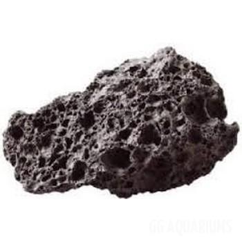 Black lava-rock